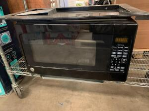 GE 2 Cubic Foot 1200W Built In Microwave with Trim