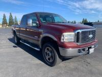 2006 Ford F-250 Super Duty Truck FX4 Off Road Crew Cab Lariat, 6.0L Powerstroke V8 Turbo Diesel, Auto Trans, 252197 miles, VIN # 1ftsw21p06ec90198 - 2