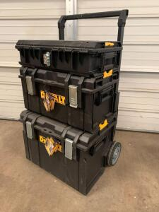 DeWalt Tough Systems 450 Rolling Tool Box, Dwst08250, inv #c4148