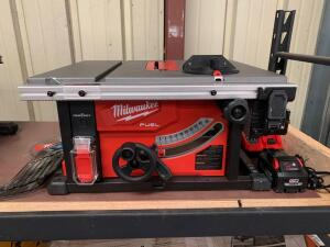 Milwaukee 18V 81/4in Table Saw, 2736-20, includes Battery and Charger, inv #c4066