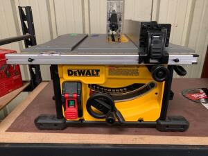 DeWalt 81/4in Table Saw, dwe7485, inv #c4143