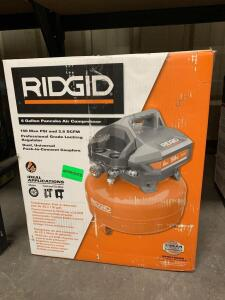 Ridgid 6 Gallon 150psi Pancake Air Compressor, OF60150hb, inv #c4022