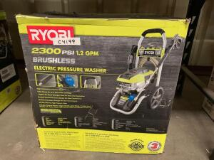 Ryobi 2300psi Brushless Electric Pressure Washer, inv #c4199
