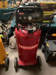 Craftsman 33 Gallon 150psi Air Compressor, 10% buyers Premium