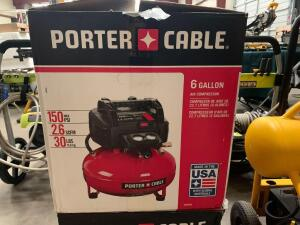 Porter Cable 6 Gallon 150psi Air Compressor, inv #c4014