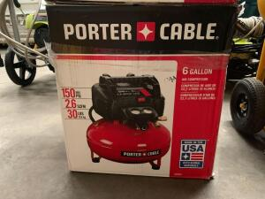 Porter Cable 6 Gallon 150psi Air Compressor, inv #c4013