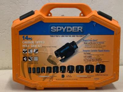 SPYDER 14pc Carbide Home Saw kit