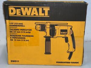 "Dewalt 1/2"" (13mm) HammerDrill"
