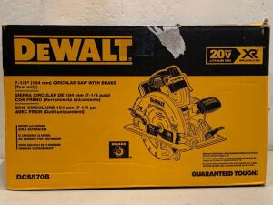 "Dewalt 20vMax Brushless XR 7-1/4"" Circular saw"