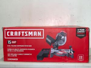 Craftsman 15 Amp 10 in Folding Compound Miter Saw