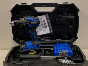"KOBALT 24vMAX Brushless 1/2"" Drill Driver Kit Battery and Charger Included"