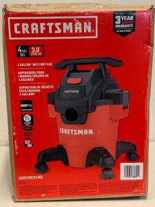 Craftsman 4 gallon Wet/Dry vacuum