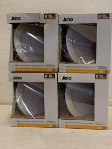 4 pc. Juno LED Ultra - Thin Downlighting 6""