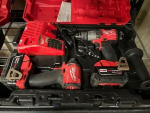 Milwaukee M18 drill Driver and Impact Driver Kit, inv #4345
