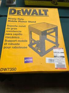 DeWalt Heavy Duty Mobile Planer Stand, DW7350, inv #4112